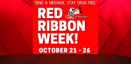 Red Ribbon Week!
